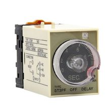 цена на ST3PF Power Off Timer Delay Relay 220V Delay 0-5MIN Contact Rating AC 250V 3A  G8TB