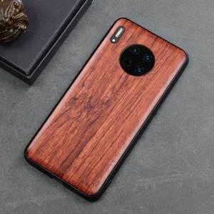 Image 5 - 2019 חדש עבור Huawei Mate 30 פרו מקרה Slim עץ חזרה כיסוי TPU פגוש מקרה על Huawei Mate Mate30 30 פרו מקרי טלפון
