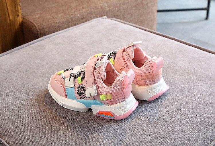 casuais retalhos tênis anti-escorregadio para um menino chaussures enfant garcon