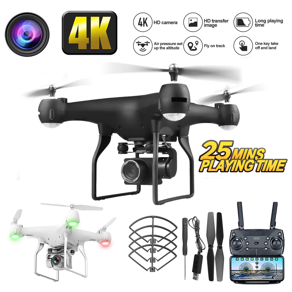 Permalink to RC WiFi Camera Drone 4K Wide Angle Aerial Photography Super Long Endurance Four Axis Dron Remote Control Helicopter Toy