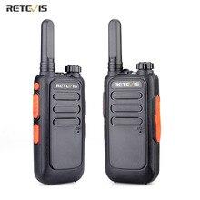 2 PCS Retevis RT669 Portable Walkie Talkie FRS Radio PMR 446 VOX Mini Two Way Radio Communicator