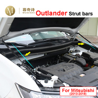 For Mitsubishi outlander 2013 2018 Front Engine cover Support Rod Lift Car Hood Hydraulic Rod Gas Jackstay Strut Bars Gas spring|Strut Bars| |  -