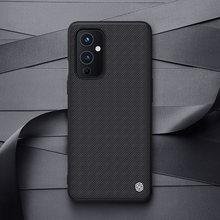 NILLKIN – coque de téléphone pour OnePlus 9, One Plus 9 coque de protection arrière en fibre de Nylon, antidérapante, Durable, pour OnePlus 9 Pro