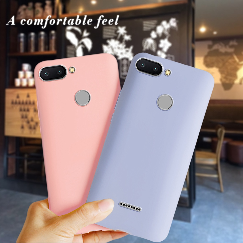 For Xiaomi Redmi 6 Cover Silicone Soft Case TPU Back Phone Cases For Xiaomi Redmi6 Redmi 6 Case Bumper For Xiaomi Redmi 6 Fundas