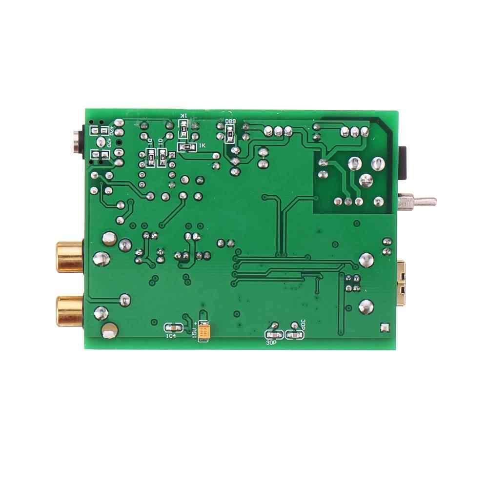 Hifi MP3 Đắc Ban Bộ Giải Mã Âm Thanh Xmos U8 + AK4490 Amp NE5532 USB Đầu Ra Tai Nghe Hỗ Trợ PCM 192 Khz