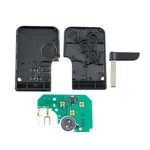 Image 2 - 3 버튼 Renault Megane 용 Smart Remote Key Keyless Fob 2003 2004 2005 2006 2007 2008 PCF7947 칩 포함 433Mhz Original Key