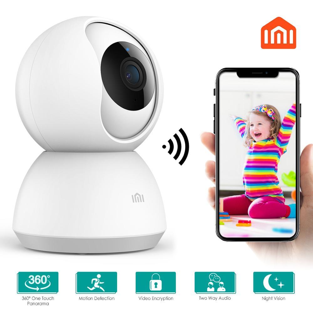 Xiaomi IMI caméra Ip 360 Angle 1080P WiFi caméra vidéo CCTV mise à jour intelligente Version panoramique-inclinaison Webcam Vision nocturne vue bébé moniteur