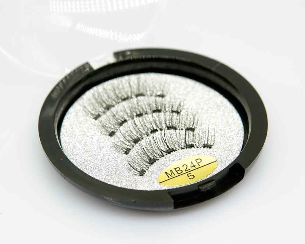 MB Nuovo 5 Magneti Magnetico Ciglia A Mano Ciglia Finte Trucco Visone eyelashe di estensione 3D naturale lungo faux cils magnetique