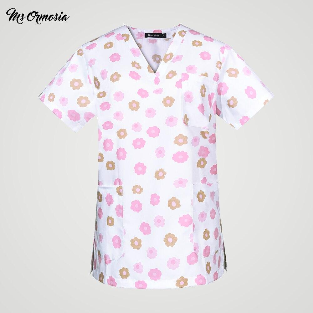 Medical Uniform Work Trouser Doctor Nurse Elastic Waist Women Dental Scrub Pants SPA Clinical Pant Lab SPA Nursing Surgical