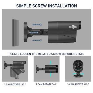Image 5 - Hiseeu 8CH Wireless NVR 1080P HD Outdoor Home Security Camera System CCTV Video Surveillance NVR Kit 1080P Wifi Camera Set black