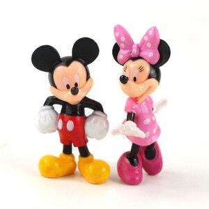Image 4 - Figurines animaux souris 8cm, jouets Mini souris club house poupées classiques pour enfants, cadeaux