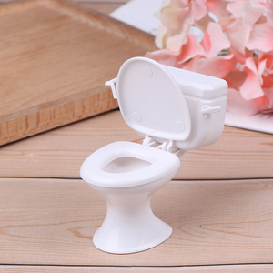 Винтаж кукольная мебель Ванная комната моделирование белая кукольный Туалет дом Миниатюрные Детские ролевые игры игрушки мягкого плюша; Аксессуары для куклы