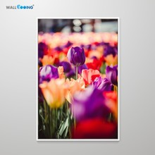 Flower decoration painting HD art canvas beautiful carnation library poster female red purple