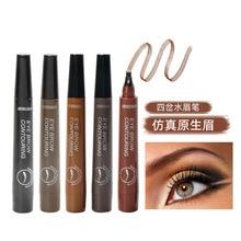 Eyebrow-Pencil Tattoo Natural Cosmetics Long-Lasting Women Makeup Waterproof 5-Color