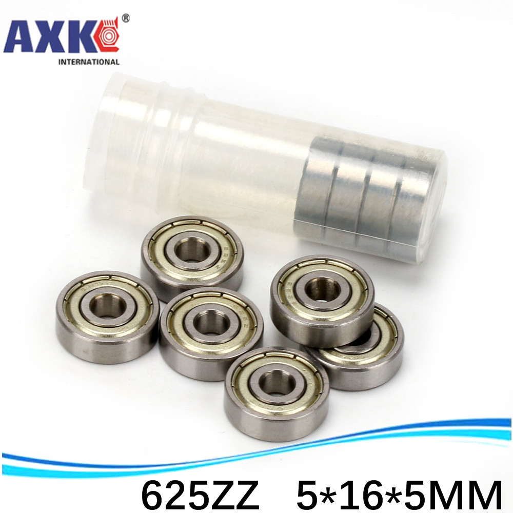 (1pcs) Miniature deep groove ball bearing <font><b>625ZZ</b></font> 625-2RS S625ZZ S625-2RS 5*16*5 mm image