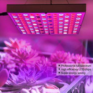Image 3 - LED Wachsen Licht Phyto Lampe 45W Lampe Für Anlage AC85 265V Phytolamp Für Pflanzen Volle Spektrum Für Pflanzen Blume Sämling anbau