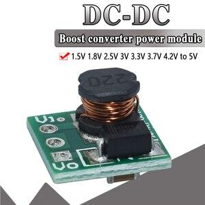 Image 1 - WAVGAT 0.9 5V do 5V DC DC Step Up moduł zasilania napięcie doładowania płyta konwertera 1.5V 1.8V 2.5V 3V 3.3V 3.7V 4.2V do 5V