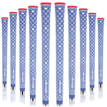 Golf grips High quality rubber irons 5 colors in choice 10pcs/lot clubs Free shipping