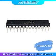 1 قطعة ATMEGA328P PU ATMEGA328 328P PU sisjqrr متحكم DIP 28 الأصلي من
