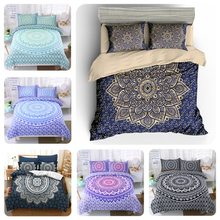 Indian Mandala Bedding Set For Home Duvet Cover Queen King 4 Sizes With Pillowcase 2/3Pcs Bedclothes Textile