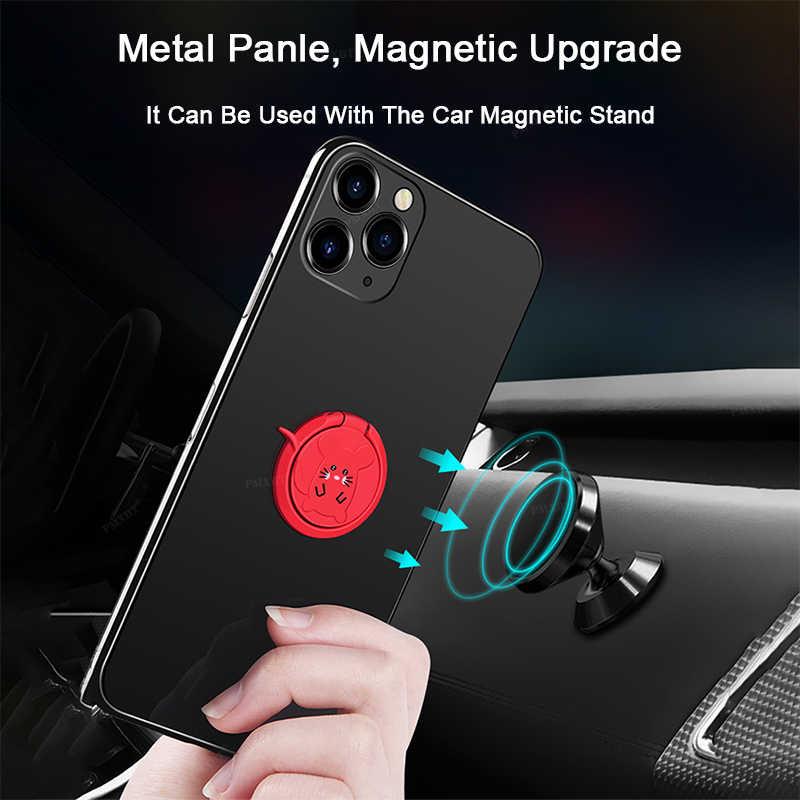 หรูหราโลหะโทรศัพท์มือถือแหวนผู้ถือโทรศัพท์ Cellular สนับสนุน Accessorie วงเล็บรถแม่เหล็กซ็อกเก็ตสำหรับสมาร์ทโฟนทั้งหมด