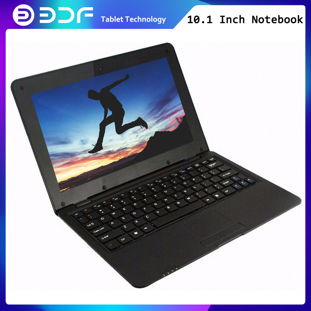2019 BDF New 10.1 Inch Notebook Laptop 10 Inch Quad Core Android 6.0 7029 1.5 GHZ  Wifi Bluetooth Mini Notebook