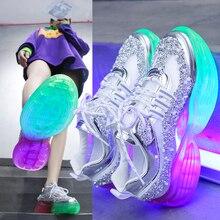 К 2020 году новые кроссовки ходьба открытый антипробуксовочная партии Bing для дамы удобные дышащие кроссовки бренда девушки