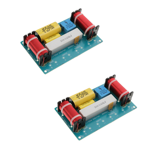 Image 5 - 2 Sets Frequency Divider 3 Way Filters Bass Frequency Distributors For Car Home Speaker