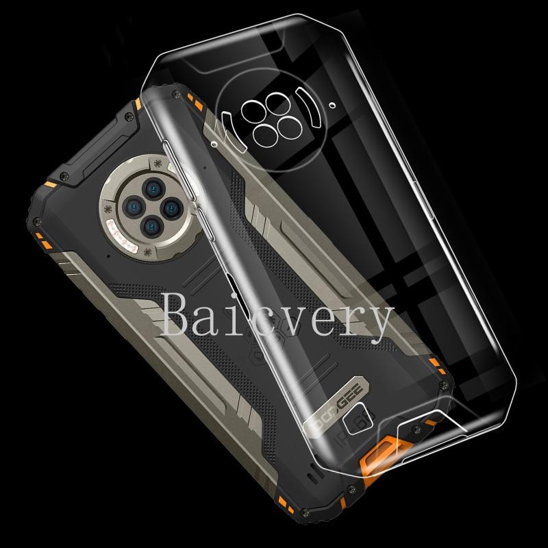 Прозрачная ультратонкая Мягкая силиконовая задняя крышка для Doogee S96 Pro TPU чехол для телефона Для Doogee S96 Pro Couqe Funda