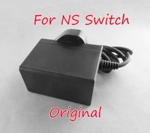 Оригинальный новый адаптер переменного тока для игровой консоли Nintendo Switch NS, американская, Европейская, Британская вилка, зарядное устройство для путешествий, домашний настенный адаптер, зарядный источник питания