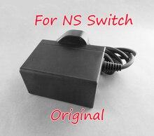 원래 닌텐도 스위치 NS 게임 콘솔에 대한 새로운 미국 EU 영국 플러그 AC 어댑터 여행 충전기 홈 벽 어댑터 충전 전원 공급 장치