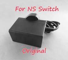 """מקורי חדש עבור Nintend מתג NS משחק קונסולת ארה""""ב האיחוד האירופי בבריטניה תקע AC מתאם נסיעות מטען קיר בית מתאם טעינה אספקת חשמל"""