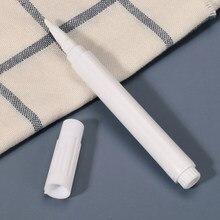 Canetas marcadoras para cozinha, etiqueta adesiva branca, líquida, canetas, armazenamento de potes, tempero, 1 peça/5 peças etiquetas adesivas para quadro negro