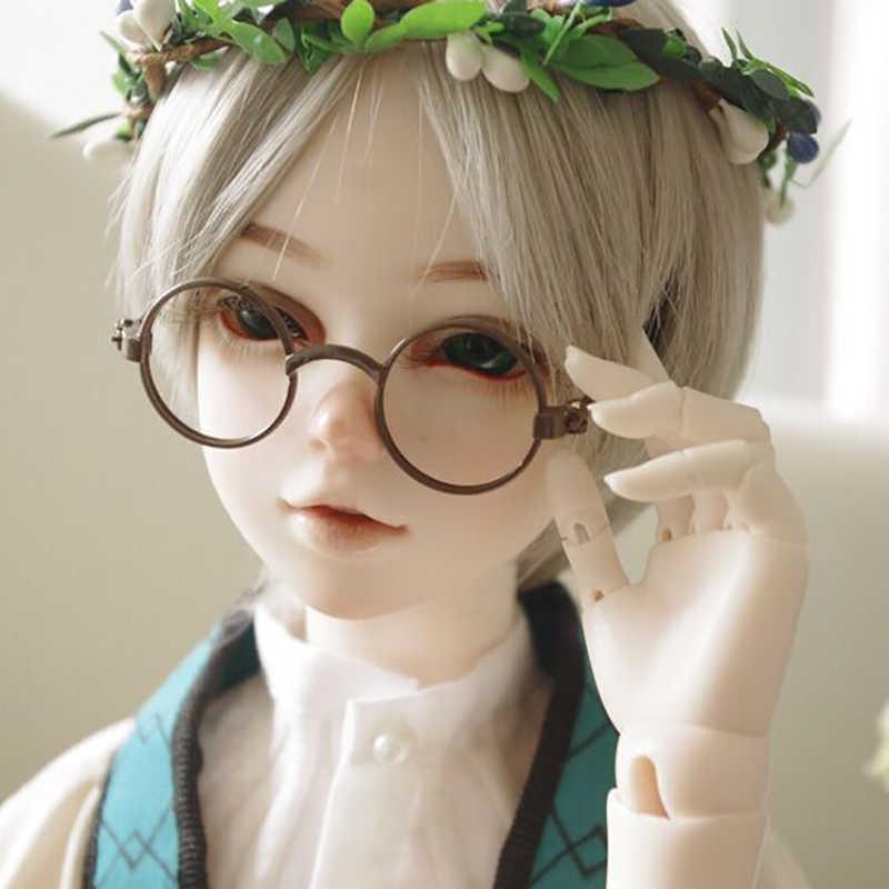 Allaosify ตุ๊กตา/MINI DIY handmade ตุ๊กตาอุปกรณ์เสริม Candy-สีแว่นตา BJD แว่นตาผ้าแว่นตา