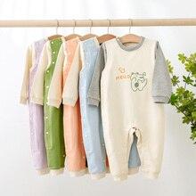 Infant Clothing Romper Jumpsuit Spring Newborn Autumn Baby Baby-Boys-Girls Cotton Cartoon
