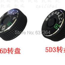 6D верхняя крышка кнопка Режим циферблат для Canon 5D3 5D Mark III 6D камера Замена блок Ремонт Часть