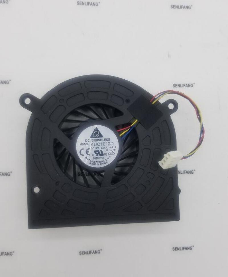 Free Shipping Original One Machine Fan For HP Omni 220 320 420 520 620 1323-00DU0H2 KUC1012D CPU Fan 4 Pin