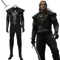The Cavill Cosplay Costume of Rivia Outfit Uniform Adult Halloween Carnival Costume Men Women Customizable