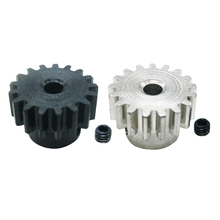RC Motor Gear, Metal Spur Gear, 17T 3.175mm Upgrade Parts for WLtoys 4WD Climbing Car 12428