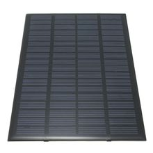 High quality 18V 2.5W Polycrystalline Stored Energy Power Solar Panel Module System Solar Cells Charger 19.4 x 12 x 0.3cm