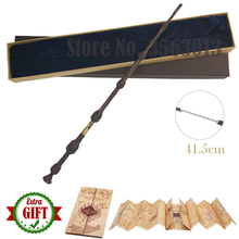 Magic-Wand Iron-Core Dumbledore Scripture-Edition Non-Luminous Elder HP The Newest 42cm