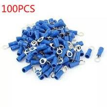 100 синий кольцевой наконечник rv2 4 утепленная синяя контактный