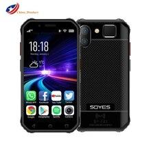 SOYES S10 Wasserdichte Mini Android Smartphone NFC 3GB 32GB 4G LTE 3'' Handy Fingerprint 5MP Robuste 1900mAh Kleine Smallphone