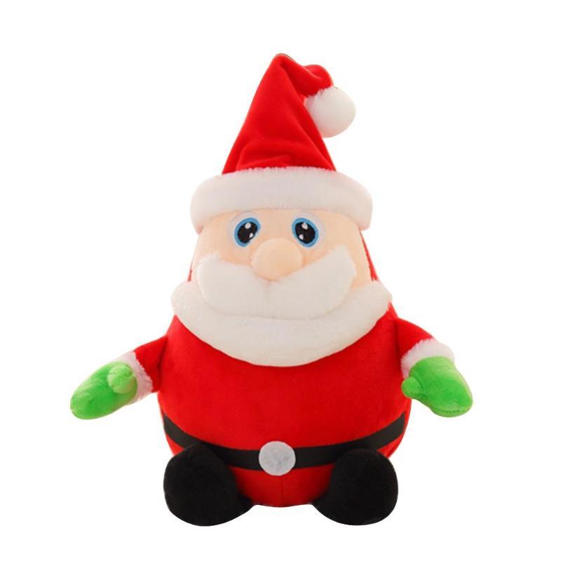 Милая музыкальная забавная мягкая плюшевая игрушка умелое производство Превосходное качество превосходное мастерство кукла для фестиваля подарок на год - Цвет: 30cm