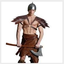 Средневековый Ретро Гладиатор воин викингов самурайский рыцарь