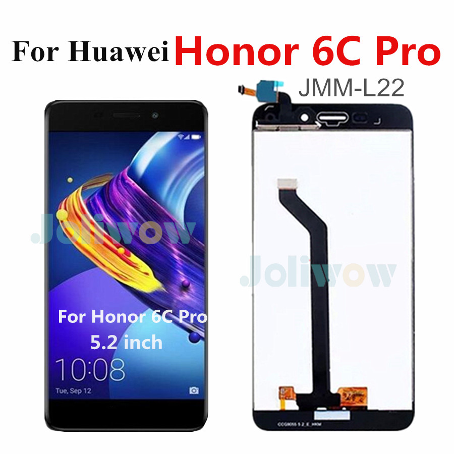 Original <font><b>LCD</b></font> For <font><b>Huawei</b></font> <font><b>Honor</b></font> <font><b>6C</b></font> <font><b>Pro</b></font> <font><b>LCD</b></font> Display <font><b>Touch</b></font> Screen Panel Digitizer Assembly Repair For <font><b>Huawei</b></font> <font><b>Honor</b></font> <font><b>6c</b></font> <font><b>pro</b></font> JMM-L22 image