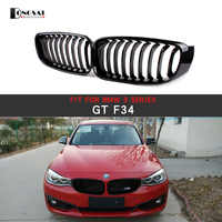 Front Grille For BMW 3 Series GT F34 ABS Single Line Racing Grills 2010+