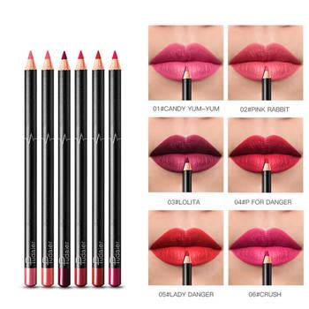 1 Piece 2019 New Pudaier Lipliner Nude Lipstick Liner Pencil Long Lasting Waterproof Matte Lip Makeup Cosmetic 36 Colors