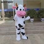 Cow Mascot Costume S...