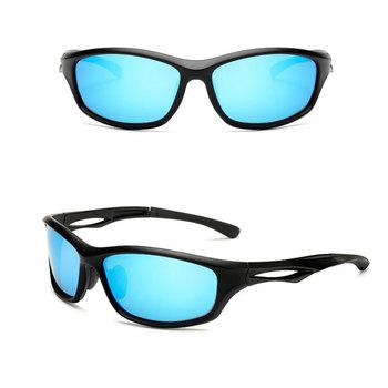Mężczyźni kobiety okulary sportowe spolaryzowane Camping piesze wycieczki okulary rowerowe sportowe okulary rowerowe okulary przeciwsłoneczne okulary wędkarskie tanie i dobre opinie U400 SYZ580 AHSDE Black Akrylowe Unisex Octan